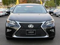 Options:  2016 Lexus Es 350|Black/Stratus Gray