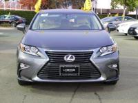 Options:  2016 Lexus Es 350|Gray/Parchment W/Birds