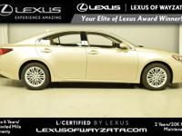 L/CERTIFIED BY LEXUS! 1 Owner! Equipped with Moonroof,