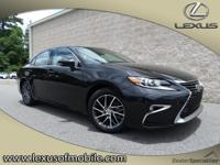 Stop by today and test drive this Caviar 2016 Lexus ES