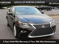 Lexus L/Certified!! One-Owner. Clean CARFAX. Obsidian