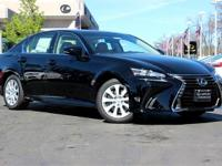 CARFAX One-Owner. Clean CARFAX. BLACK 2016 Lexus GS