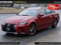 This 2016 Lexus GS 200t 4dr 4dr Sedan F Sport RWD