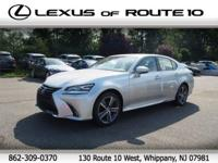 2016 Lexus GS 350 AWD, Leather. 26/19 Highway/City