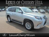 Clean CARFAX. Silver 2016 Lexus GX 460 4WD 6-Speed