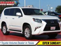 This Lexus GX 460 has a strong Premium Unleaded V-8 4.6