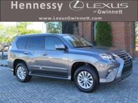 2016 Lexus GX 460 in Gray. L/Certified by Lexus