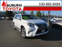 LOW MILES, 1 OWNER, 4WD!!  This 2016 Lexus GX 460 has