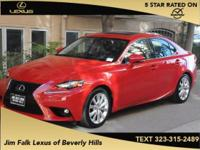 ONE OWNER!!  Are you READY for a Lexus?! Call ASAP!