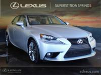 Clean CARFAX. Artificial Leather.  2016 Lexus IS 200t
