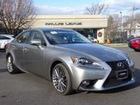 Options:  2016 Lexus Is 300|Atomic Silver/Black|V6 3.5