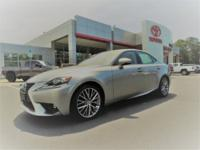 CARFAX One-Owner. Clean CARFAX. Silver 2016 Lexus IS