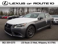 2016 Lexus LS 460 AWD, Leather.Awards:* ALG Residual