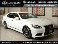 LS 460 trim. L/ Certified CARFAX 1-Owner LOW MILES - 1