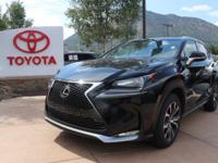 CARFAX One-Owner. Black 2016 Lexus NX 200t 4D Sport