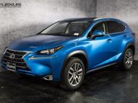 2016 Lexus NX 200t. Low miles mean barely used. Like