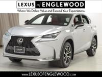 2016 Lexus NX 200t Finished with Silver Lining Metallic