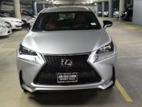 F-SPORT-NAVIGATION-ONE OWNER!! This NX200T was leased