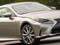 2016 Lexus RC 200t. A one-owner car and it shows.