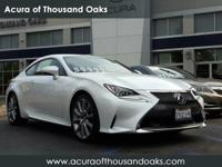 Options:  2016 Lexus Rc 200T|Ultra White/|V4 2.0 L