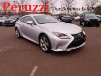 CARFAX One-Owner. Clean CARFAX. 2016 Lexus RC 300 AWD