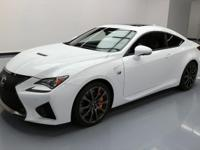 This awesome 2016 Lexus RC F comes loaded with the
