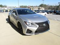 We are excited to offer this 2016 Lexus RC F. This