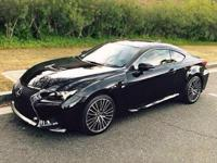 2016 Lexus RC F. So few miles means it's like new.