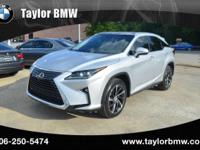 Taylor BMW is excited to offer this 2016 Lexus RX 350.