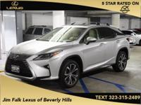 Options:  2016 Lexus Rx 350|Silver|Navigation-One