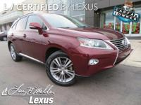 *Experience a Fully-Loaded Lexus RX 350 AWD Luxury