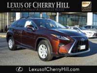 2016 Lexus RX 350 CARFAX One-Owner. Clean CARFAX.