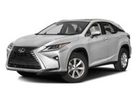 Options:  2016 Lexus Rx 350|/|V6 3.5 L Automatic|34660