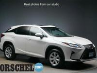 White Pearl 2016 Lexus RX 350 with NAV!AWD, Noble