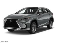Options:  2016 Lexus Rx 350|Gray|Clean Carfax. Ask Us