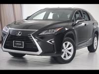 2016 Lexus RX 350 Finished with Obsidian exterior and