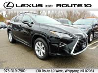 2016 Lexus RX 350 AWD, Leather. 26/19 Highway/City