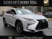 2016 Lexus RX 350 F-SPORT Certified. CARFAX One-Owner.