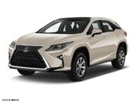 Clean CARFAX. CARFAX One-Owner. 2016 Lexus RX 3.5L V6
