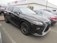 DRIVE FOREVER!! THIS LEXUS RX 350 F-SPORT COMES WITH A