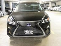 NAVIGATION-ONE OWNER! WOW! HYBRID! This RX450H was