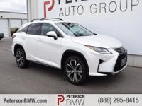 Turn heads in our 2016 Lexus RX 450h AWD brought to you