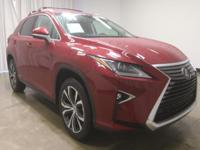 This fantastic 2016 Lexus RX is the one-owner SUV you