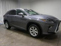 2016 Lexus RX Nebula Gray Pearl 350 8-Speed Automatic