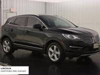 Black 2016 Lincoln MKC Premiere AWD 6-Speed Automatic
