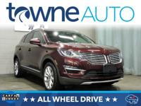 Recent Arrival! 2016 Lincoln MKC Select EcoBoost 2.0L