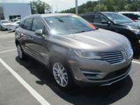 Clean CARFAX. Luxe Metallic 2016 Lincoln MKC Reserve