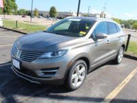 New Price! Certified. Luxe Metallic 2016 Lincoln MKC