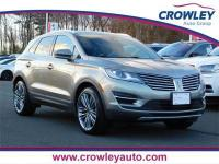 2016 Lincoln MKC Reserve AWD 6-Speed Automatic, Dual
