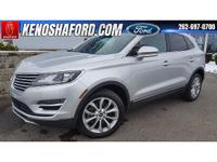 Remaining Lincoln WARRANTY on this well equipped MKC!